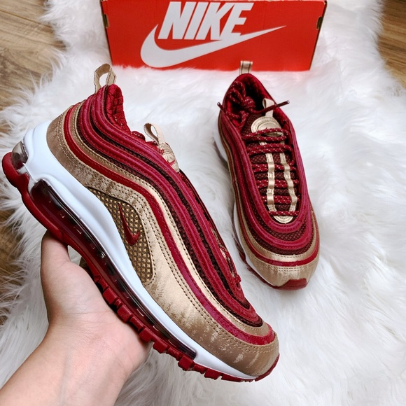 the best attitude bcc13 652ae New Nike Air Max 97 QS (GS) Noble Red/Blur NWT